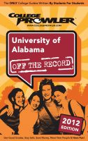 Cover for 'University of Alabama 2012'