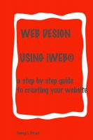 Cover for 'Web Design:  Using iWeb'