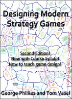 Cover for 'Designing Modern Strategy Games'