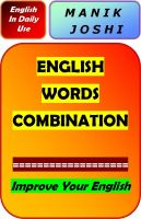 Cover for 'English Words Combination'