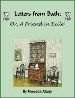 Cover for 'Letters from Bath; Or, A Friend in Exile'