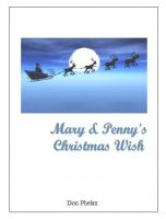 Cover for 'Mary & Penny's Christmas Wish'