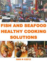 Cover for 'Fish and Seafood Healthy Cooking Solutions'