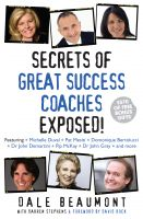 Cover for 'Secrets of Great Success Coaches Exposed!'