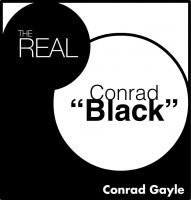 "Cover for 'The Real Conrad ""Black""'"