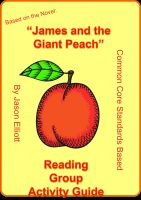 Cover for 'James and the Giant Peach Reading Group Activity Guide'
