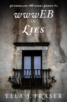 Cover for 'wwwEB OF LIES'