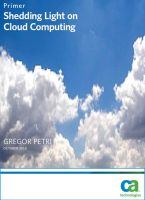 Shedding light on Cloud Computing (2009)