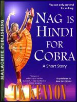 Cover for 'Nag Is Hindi for Cobra'