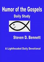 Cover for 'Humor of the Gospels Daily Study'