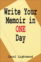 Cover for 'Write Your Memoir In One Day'
