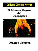 Cover for 'Il Cinema Horror dei Teenagers'