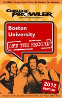 Cover for 'Boston University 2012'