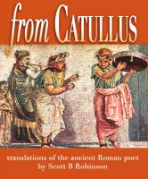 Cover for 'From Catullus'