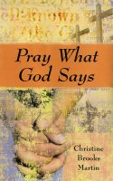 Cover for 'Pray What God Says'