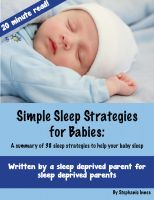 Cover for 'Simple Sleep Strategies for Babies: A summary of 38 sleep strategies to help your baby sleep'