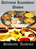 Cover for 'Delicious Rajasthani Dishes from India'