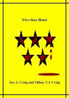Cover for 'Five Star Hotel'