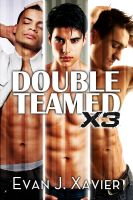 Cover for 'Double Teamed X3 (Three Gay Erotic Tales)'