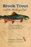 Cover for 'Brook Trout and the Writing Life'