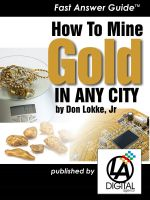 Cover for 'How to Mine Gold In Any City'