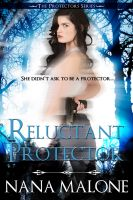 Cover for 'Reluctant Protector'