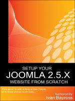 Cover for 'Setup Your Joomla 2.5.X Website From Scratch'