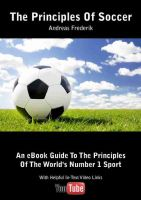 Cover for 'The Principles Of Soccer'