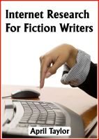 Cover for 'Internet Research For Fiction Writers'