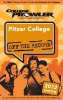 Cover for 'Pitzer College 2012'