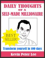 Cover for 'Daily Thoughts Of A Self-Made Millionaire'