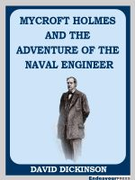 Cover for 'Mycroft Holmes and The Adventure of the Naval Engineer'