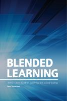Cover for 'Blended Learning: A Wise Giver's Guide to Supporting Tech-assisted Teaching'