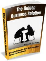 Cover for 'The Golden Business Solution'