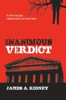 Cover for 'Unanimous Verdict'