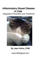 Cover for 'Inflammatory Bowel Disease in Cats: Integrative Prevention and Treatment'