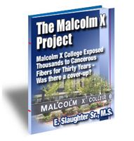 Cover for 'The Malcolm X Project'