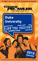 Cover for 'Duke University 2012'
