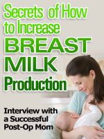 Cover for 'Secrets of How To Increase Milk Production'