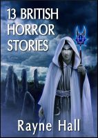 Cover for '13 British Horror Stories'