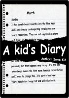 Cover for 'A Kid's Diary'