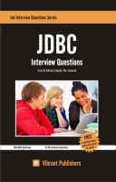 Cover for 'JDBC Interview Questions You'll Most Likely Be Asked'