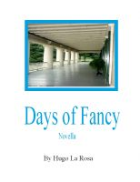 Cover for 'Days of Fancy'