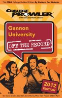 Cover for 'Gannon University 2012'