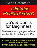 Cover for 'eBook Publishing: Do's & Don'ts for Beginners'
