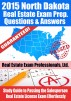 2015 North Dakota Real Estate Exam Prep Questions and Answers: Study Guide to Passing the Salesperson Real Estate License Exam Effortlessly by Real Estate Exam Professionals Ltd.