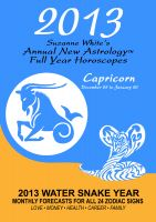 Cover for '2013 Capricorn - Suzanne White's Annual Horoscopes for Capricorn'