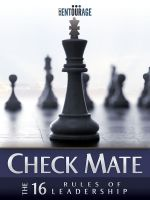 Cover for 'Check Mate - The 16 Rules of Leadership'