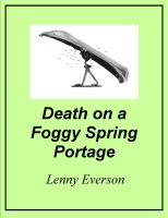 Cover for 'Death on a Foggy Spring Portage'