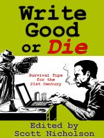 Cover for 'Write Good or Die'
